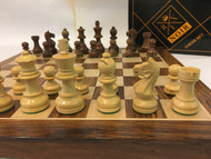 Rex Noir 40cm Sheesham Expert Chess Set (DIS-S-40 & EXP-S-75)