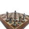 Rex Noir Prestige International Design Metal / Brass Chess Pieces (PRE-INT-83) light