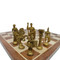 Rex Noir Prestige Roman Series Brass Chess Pieces (PRE-ROM-85) light