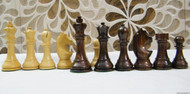 Rex Noir Prestige 95mm WCC Acacia Chess pieces (PRE-A-95)