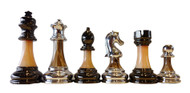 Dal Rossi Metallic & Marble Look Chess Pieces (L2226DR)