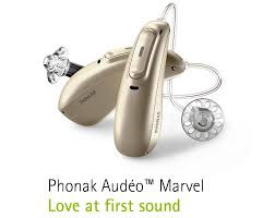 two hearing aids