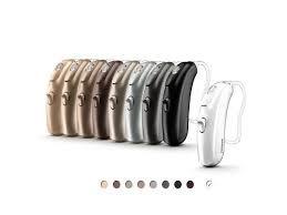 Bolero B hearing aids in various colors
