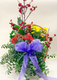 Deep Condolences Sympathy Basket