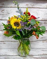 Autumn Wonders Vase Arrangement