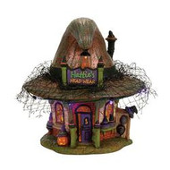 Dept 56 Halloween Villages- Hattie's Hat Shop