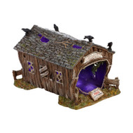 Dept 56 Halloween Villages-Crow Creek Covered Bridge
