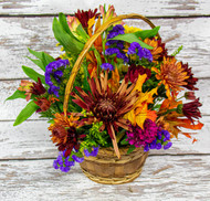 This fall basket is a great addition to make your home feel like autumn.