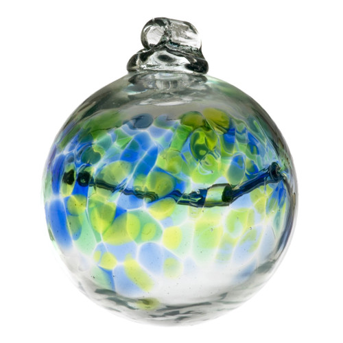 Those born in the month of August are brave, conscientious and independent. Quick-witted and strong, a person born in this month is a natural leader. The colors of this birthday wish ball hold the powers of honor, dignity and protection.