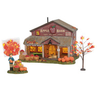 Department 56 Village- Apple Barn