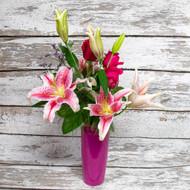 Stargazer Romance Vase Arrangement