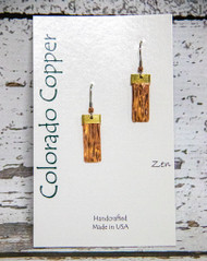 Colorado Copper Earrings -Zen-