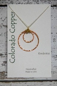 Colorado Copper Necklace -Embrace-