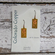 This hand-crafted line of copper, dipped silver and brass jewelry reflects the organic nature of the Rocky Mountains. Designs by Colorado jewelry artist Rachel Rayburn, is custom collection is the perfect keep-sake.
