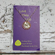 Bike Necklace Love This Life