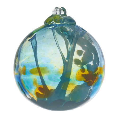 These Fairy Orbs are a wonderful accent piece and a perfect gift to lift the spirit, inviting well-being and positive energy into your surroundings. Imagine fairies dancing among the vibrant colours and enticing good fortune to all who take pleasure in this beautiful ornament.