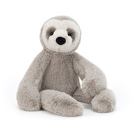 Bailey Sloth is so chilled out, he falls asleep here, there and everywhere! This groovy guy has soothing mocha fur, with a cute creamy face and neat eye mask. Bobble-nosed and chunky-pawed, Bailey gives super sloth snuggles to all.