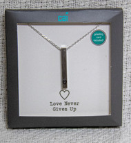 Love Never Gives Up Necklace