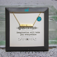 Imagination Will Take You Everywhere  Necklace