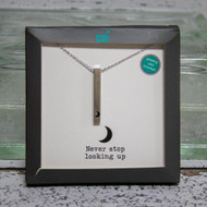 Never Stop Looking Up Necklace