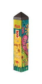 Heart of the Family -Art Pole- 20""