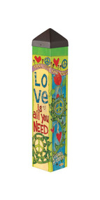 Love is All You Need -Art Pole- 20""