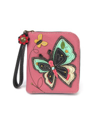 Butterfly Zip Around Wallet