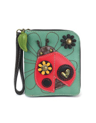 Ladybug Zip Around Wallet