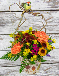 Birds of Fall Arrangement -Small-