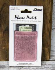 Phone Pocket -Rose Gold-