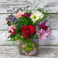 All My Love Cube Vase Arrangement