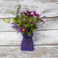 Just A Little Purple Vase Arrangement
