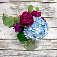 Blue & Berry Vase Arrangement