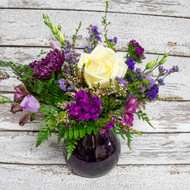 Boho Purple Vase Arrangement