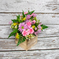 All Things Pink Box Arrangement