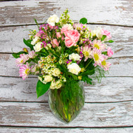 A Pink Dream Vase Arrangement