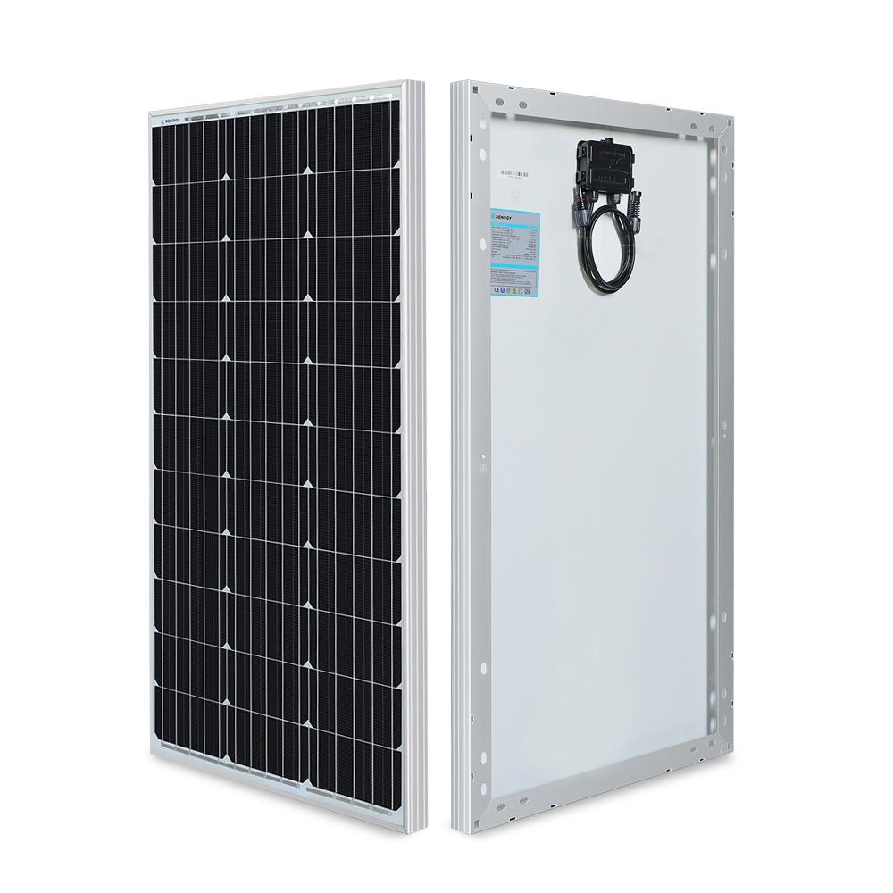 RENOGY 80W 単結晶 ソーラーパネル 12Vシステム用
