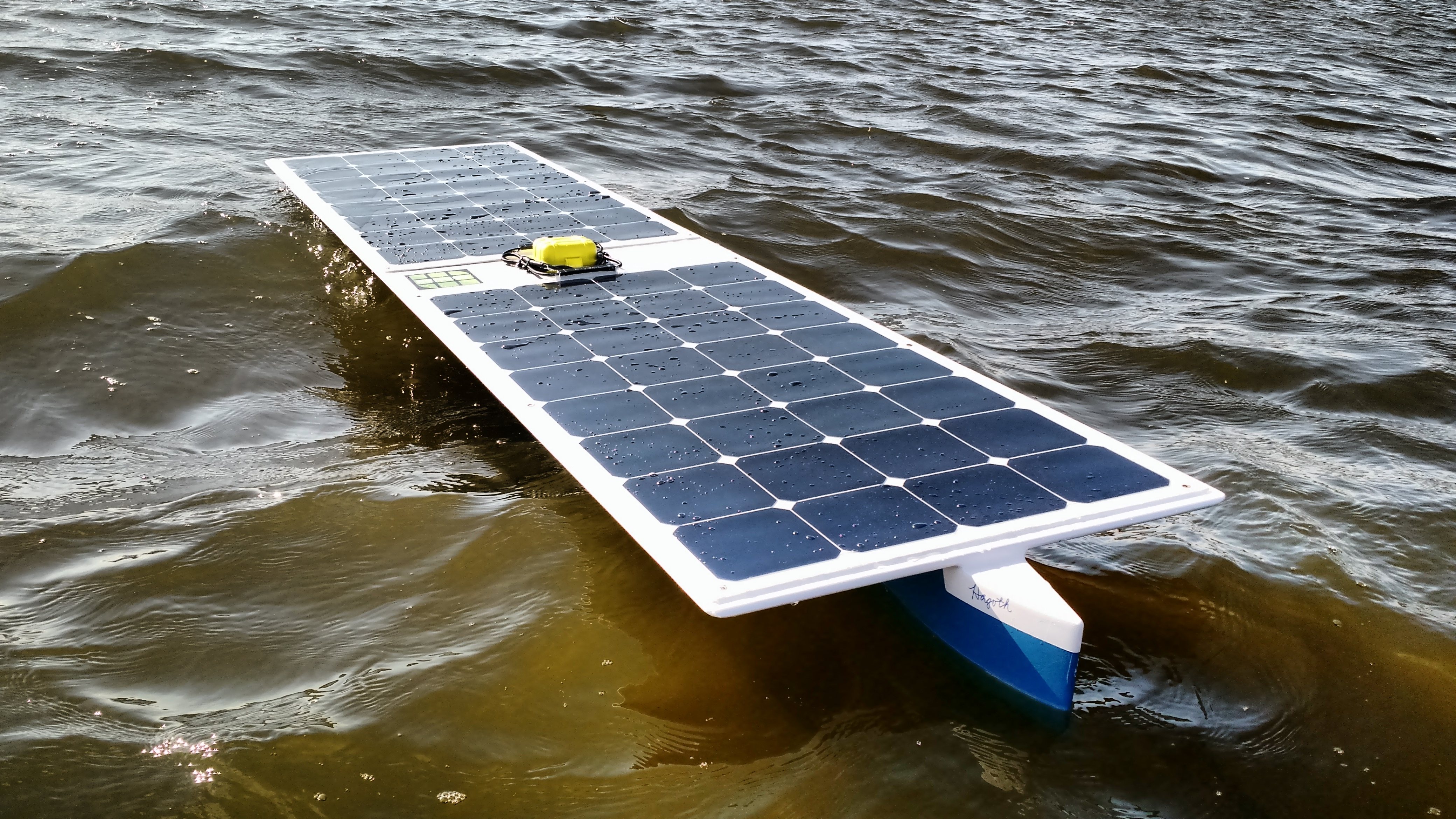 The First Unmanned Surface Vehicle Usv To Cross An Ocean