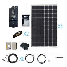 Renogy 1200 Watt 12 Volt Monocrystalline Solar Cabin Kit