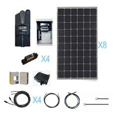 Renogy 2400 Watt 24 Volt Monocrystalline Solar Cabin Kit
