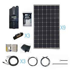 Renogy 2700 Watt 48 Volt Monocrystalline Solar Cabin Kit