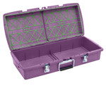 C2 Dual-tray Container, Purple, Empty