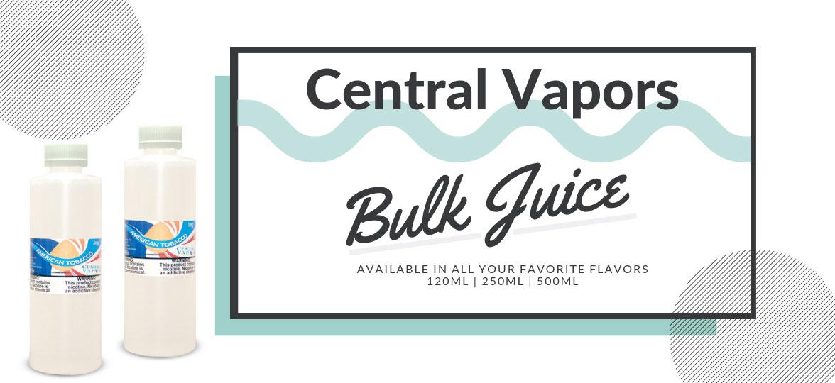 CENTRAL VAPORS - Vape Juice | E Juice | Vape Mods