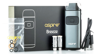 aspire breeze vape pod