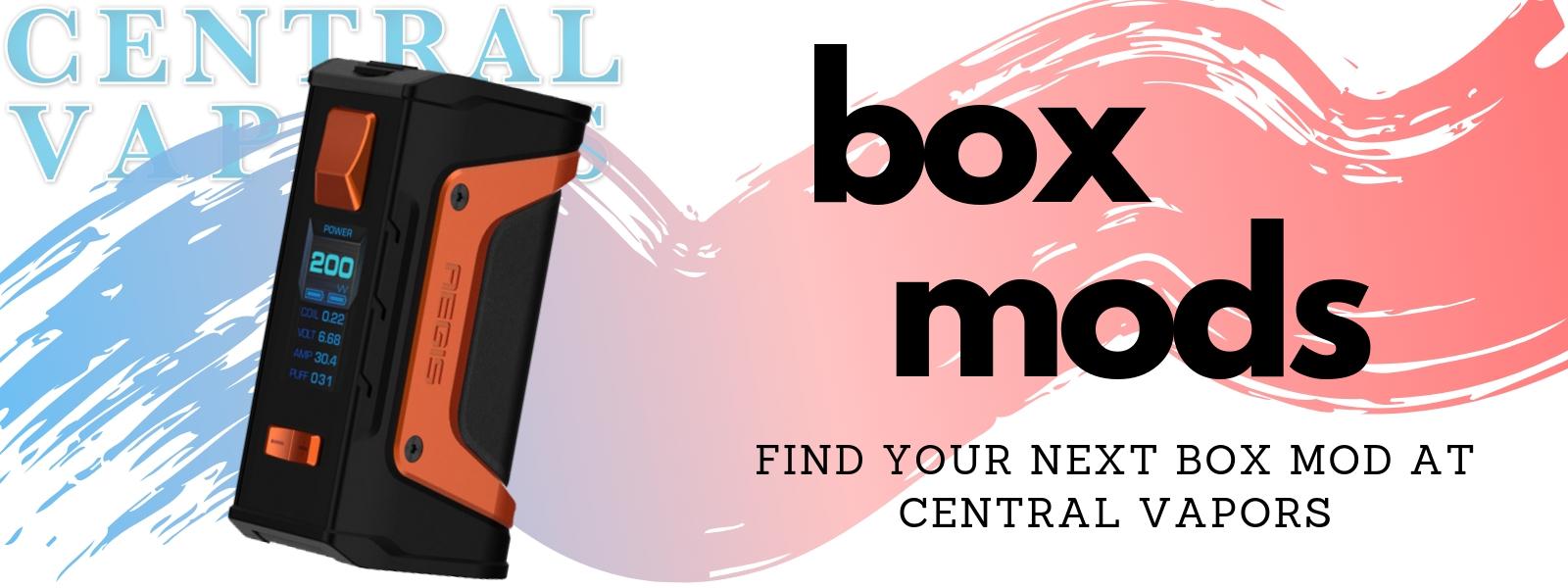 Central Vapors Box Mods