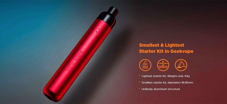 geek vape wenax stylus pod starter kit