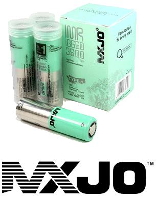 MXJO 18650 Batteries for Vaping