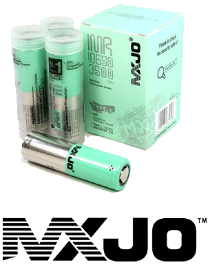 MXJO 18650 Batteries for Vaping