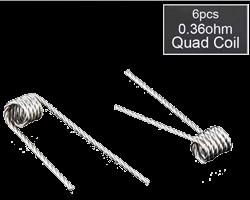 Prebuilt Clapton Quad Coils