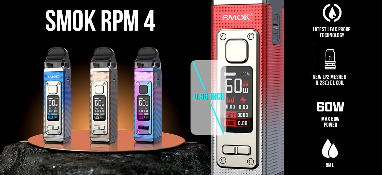 smok rpm 4 pod system